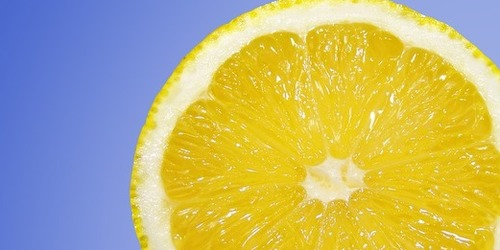 Le Citron, antiseptique naturel